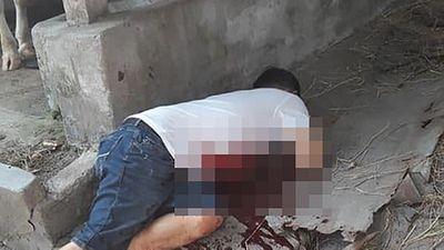 Hiện trường vụ trọng án nổ súng khiến 4 người tử vong tại Củ Chi - ảnh 1