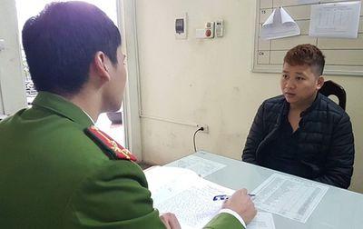Hà Nội: Tạm giữ hình sự tài xế taxi cướp tài sản của nhiều khách nước ngoài - ảnh 1