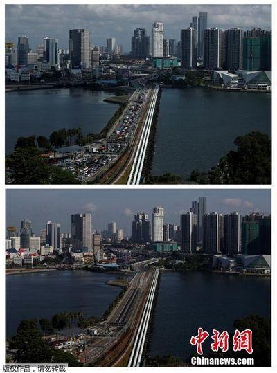 Hình ảnh trái ngược của các danh thắng thế giới trước và sau khi dịch Covid-19 bùng phát - ảnh 1