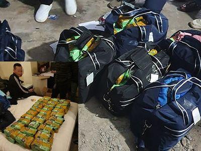 """Phá đường dây buôn """"cái chết trắng"""" xuyên quốc gia, thu giữ gần 450kg ma túy tổng hợp - ảnh 1"""