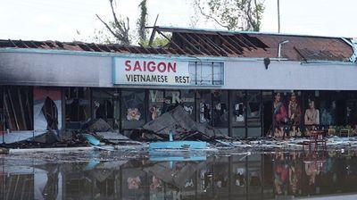 Nhà hàng Việt bị thiêu rụi giữa làn sóng biểu tình ở Mỹ - ảnh 1