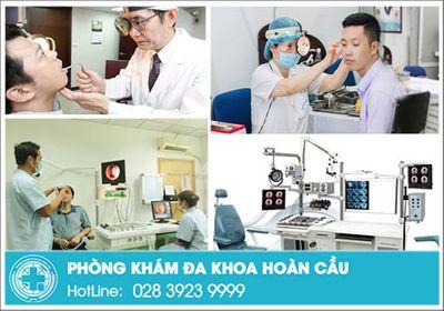 Khám chữa tai mũi họng hiệu quả tại phòng khám đa khoa Hoàn Cầu - ảnh 1