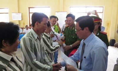Anh em ông Đoàn Văn Vươn được đặc xá trở về