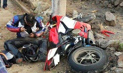 Khởi tố vụ mô tô phượt tông chết lái xe bảo vệ đoàn đua