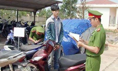 Băng trộm cuỗm xe máy để giải tỏa