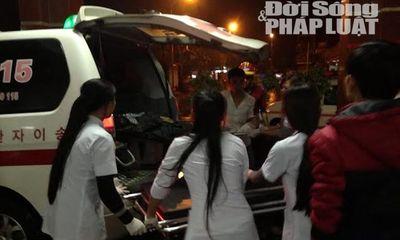 Sập giàn giáo ở Hà Tĩnh: Chuyển gấp 1 nạn nhân ra BV Bạch Mai