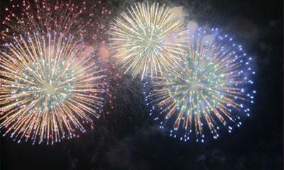 Lễ hội đền Hùng 2015: Bắn pháo hoa tầm cao tại Quảng trường Hùng Vương