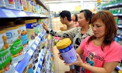 Giá sữa cho trẻ dưới 2 tuổi giảm 4\%