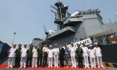 Cận cảnh 2 tàu Lực lượng tự vệ biển Nhật Bản tại Đà Nẵng