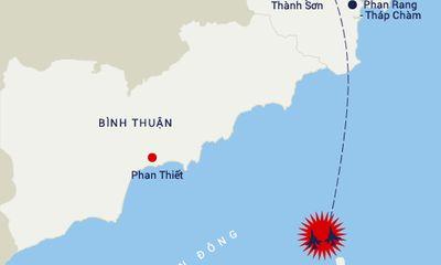 Đã xác định được vị trí hai chiếc Su-22 rơi ở Bình Thuận