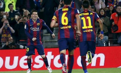 Barcelona 6-0 Getafe: Huỷ diệt ngay hiệp 1