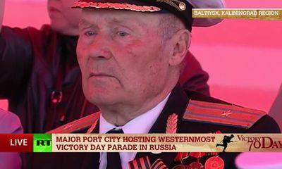 Diễu binh tại Nga: Cựu chiến binh tề tựu mừng 70 năm ngày chiến thắng