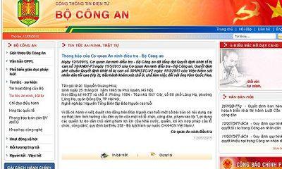 Khởi tố Kim Quốc Hoa - nguyên Tổng biên tập báo Người cao tuổi