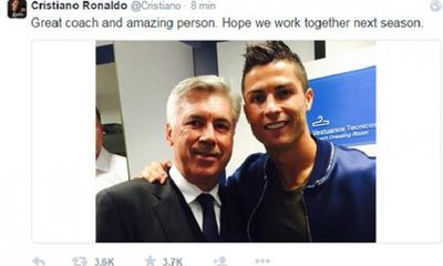 Tin nóng sáng 24/5: Mourinho tặng quà chia tay Cech, Ronaldo giã biệt Ancelotti