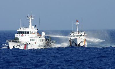 Phản đối tàu TQ có hành động cản trở tàu cứu nạn ngư dân VN