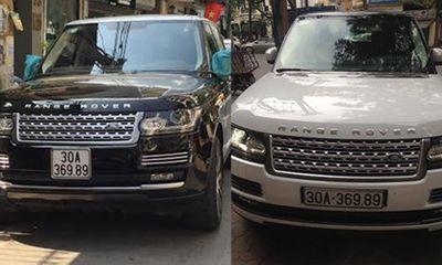 Làm rõ vụ 2 siêu xe Range Rover trùng biển số