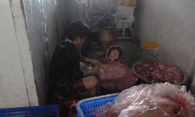 Bàng hoàng công nghệ lên đời thịt bò viên bằng thịt thối và hóa chất