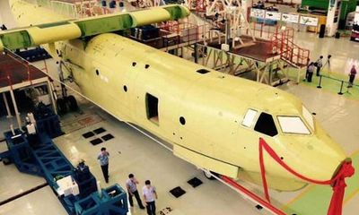 Trung Quốc triển khai lắp ráp thủy phi cơ lớn nhất thế giới