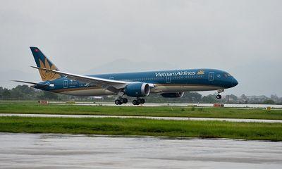 Cận cảnh máy bay Boeing 787-9 Dreamliner siêu sang của VNA