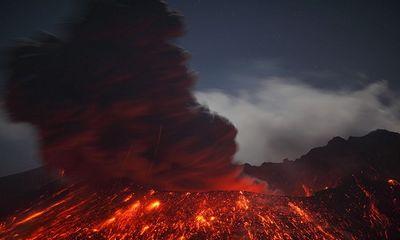 Núi lửa sắp phun trào tại Nhật Bản, đe dọa mạng sống 600.000 người