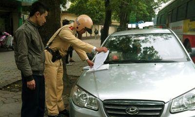 Dừng đỗ xe không đúng quy định, bị phạt bao nhiêu tiền?
