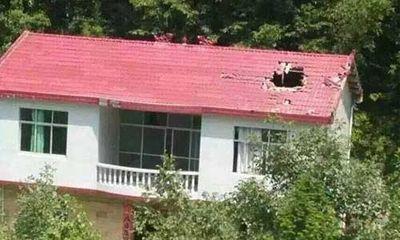 Trung Quốc: Mảnh vỡ tên lửa rơi trúng mái nhà dân