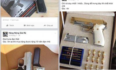 """Tử thần giấu mặt trong """"kho vũ khí chợ đen"""" trên mạng xã hội"""
