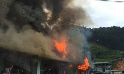 Cháy lớn, một phụ nữ mang thai tử vong