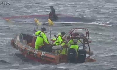 Lật tàu cá tại Hàn Quốc, ít nhất 8 người thiệt mạng