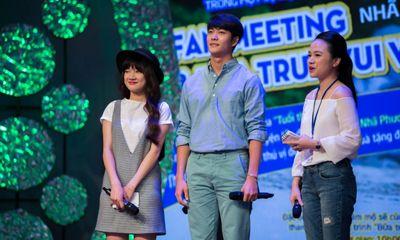 Kang Tae Oh nhẹ nhàng hôn Nhã Phương trong Bữa trưa vui vẻ