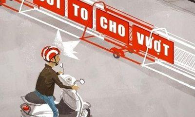 Đi xe, bấm còi không đúng nơi quy định bị phạt bao nhiêu tiền?