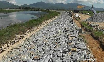 Hà Tĩnh: Những bất cập tại Dự án nâng cấp, sửa chữa Đê Tả Nghèn