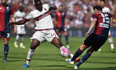 AC Milan lần thứ 3 liên tiếp gục ngã trước Genoa