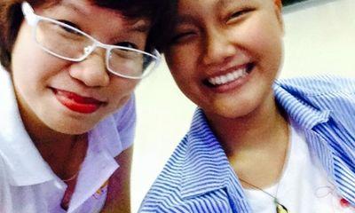 Cảm động trước nghị lực của cô gái 17 tuổi bị ung thư xương