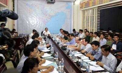 Phó Thủ tướng chủ trì họp khẩn chống bão số 4