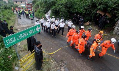 Lở đất ở Guatemala: Số người thiệt mạng lên đến 131