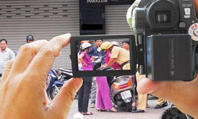 Ai được quyền quay phim cảnh sát giao thông khi đang làm nhiệm vụ?