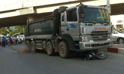 Va chạm xe tải, nam thanh niên bị cuốn vào gầm tử vong