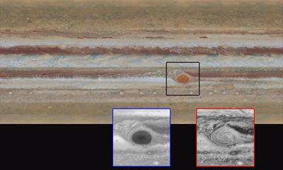 NASA công bố hình ảnh 4k của sao Mộc