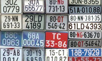 Thủ tục đăng ký xe, biển số xe