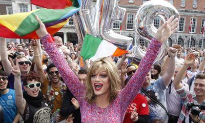 Ireland chính thức ban hành luật hôn nhân đồng giới
