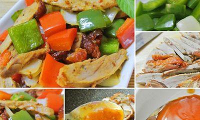 Thịt vịt xào cay hấp dẫn bữa cơm tối trong những ngày se lạnh
