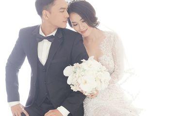Ảnh cưới ngọt ngào, lãng mạn của Tú Vi - Văn Anh