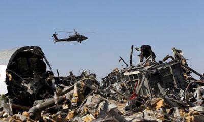 Âm thanh cuối cùng trên máy bay Nga rơi ở Ai Cập là tiếng bom