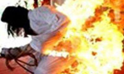 Bị người tình tưới xăng đốt vì không chịu bỏ buôn ma túy