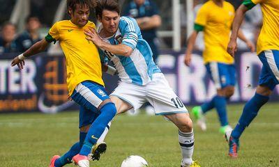Argentina 1-1 Brazil: Lima gỡ hòa cho Brazil