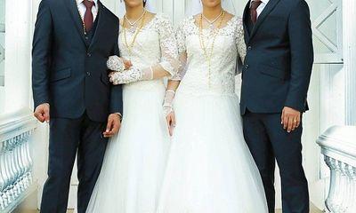 Đám cưới chung kỳ lạ của hai cặp song sinh