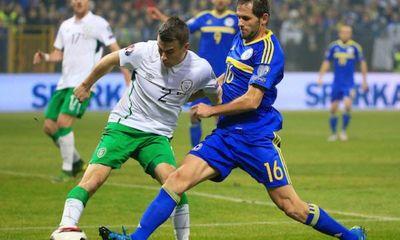 Ireland chính thức góp mặt ở Euro sau trận cầu siêu thực dụng