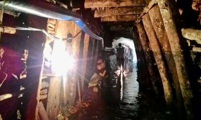 Cận cảnh hiện trường vụ sập hầm khai thác than tại Hòa Bình