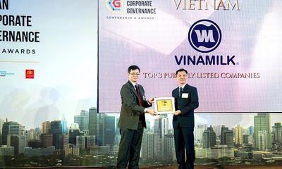 Vinamilk có điểm Quản trị công ty tốt nhất Việt Nam